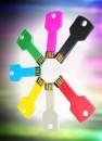 OP=OP! USB Sleutel van 4, 8, 16 of 32GB en in 7 verschillende kleuren, vanaf €9