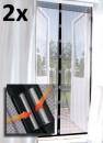 2 magnetische anti-insecten horren voor 2 buitendeuren van €60 voor €25
