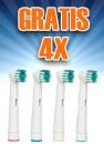 GRATIS opzetborstels voor bijna alle Oral-B elektrische tandenborstels